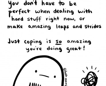 You're doing amazing!